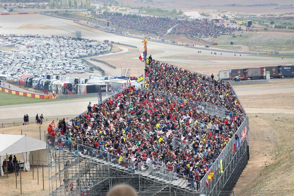 Las entradas del Gran Premio de Aragón de MotoGP, disponibles a partir del lunes