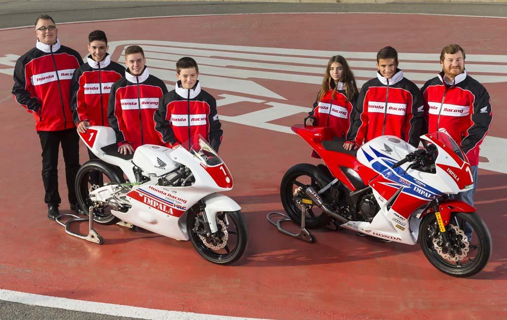 Honda crea un equipo de Moto3 que da continuidad a los pilotos de la Copa CBR300R