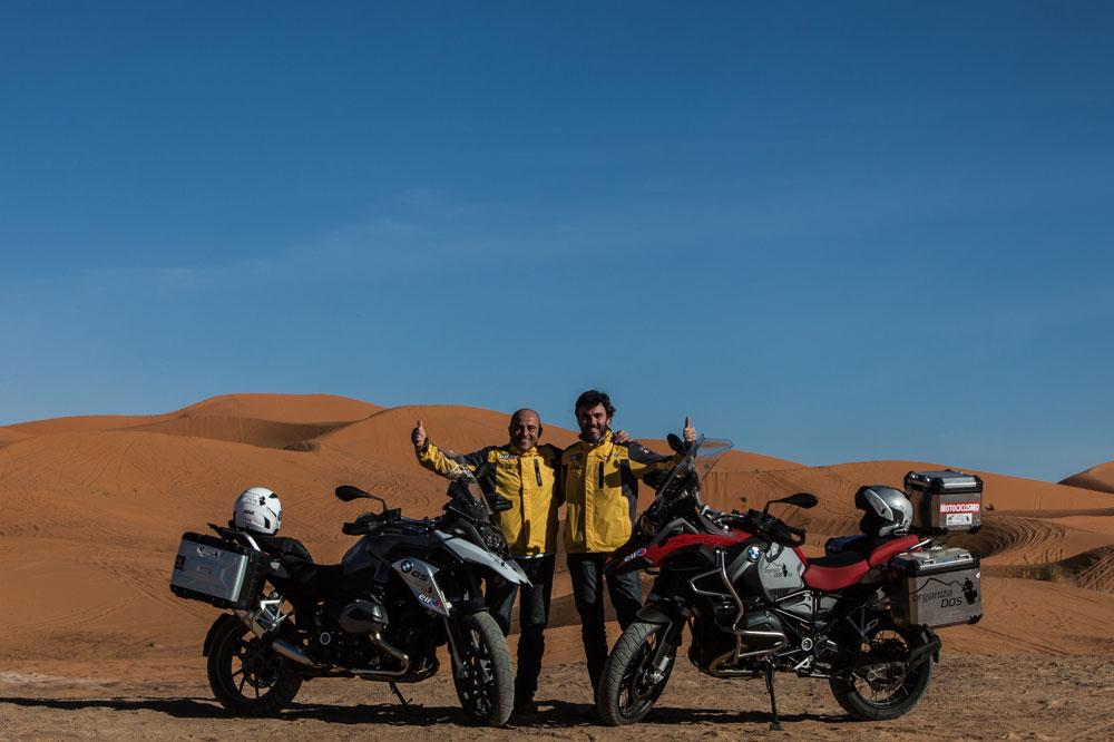 Viaje a Marrueco en moto, con Keko Ochoa y OrganizaDOS