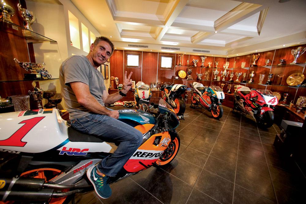 Mick Doohan habla para la revista Motociclismo