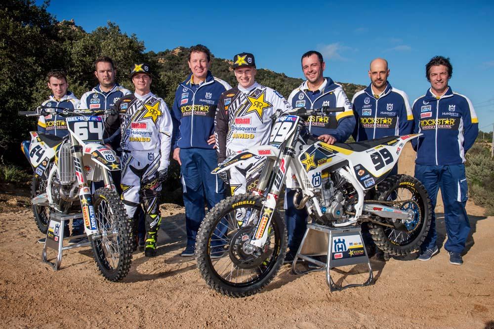 Husqvarna presenta las imágenes oficiales de su equipo de MX2