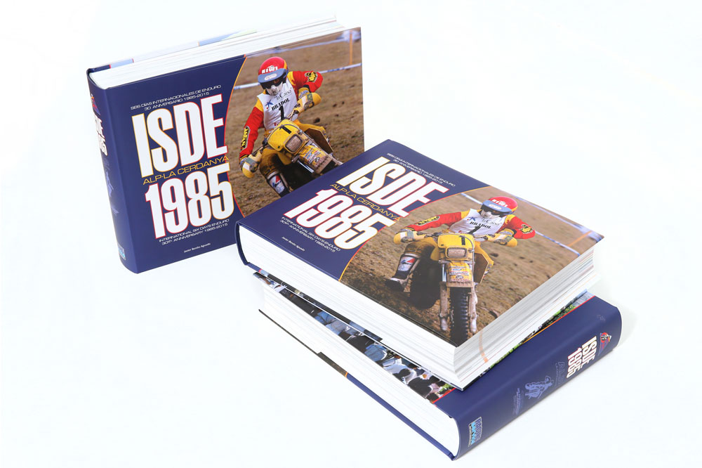 El libro Seis Dias Internacionales de Enduro de La Cerdanya de 1985 ya está a la venta