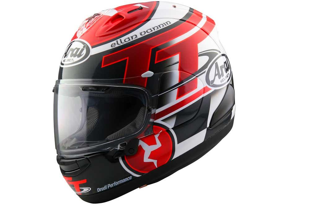 Llega el casco Arai IOM TT 2016 edición limitada