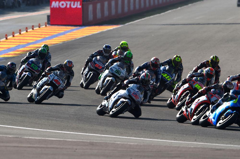 Calendario oficial del Mundial de MotoGP 2016