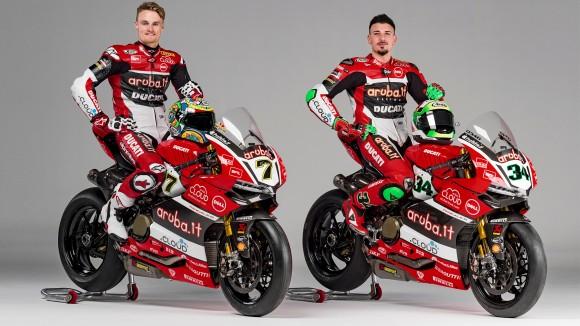 Presentación del equipo Ducati del Mundial de SBK 2016