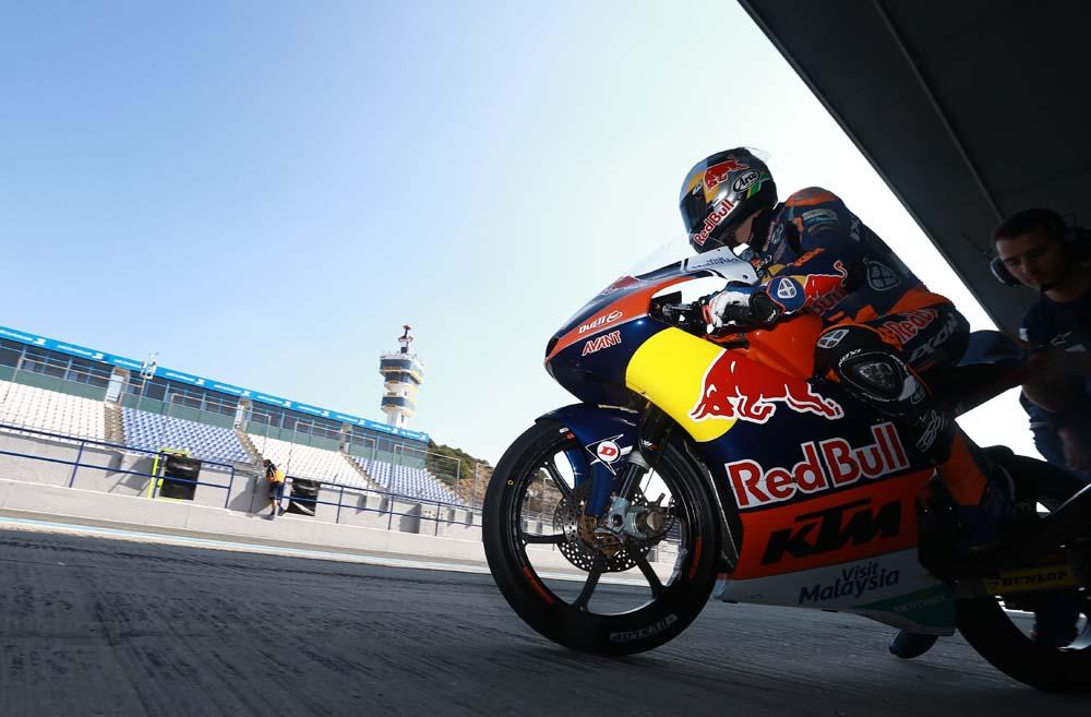 El Circuito de Jerez acoge nuevas sesiones de entrenamientos privados de equipos de Moto2