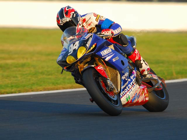 David Checa en el Mundial de SBK