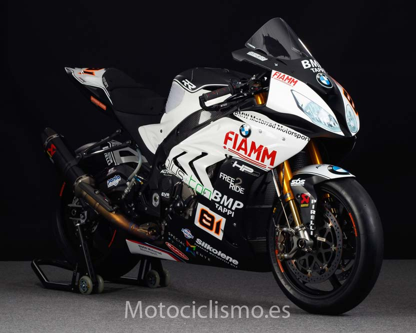 BMW S 1000 RR, en 2016 con el Althea Racing