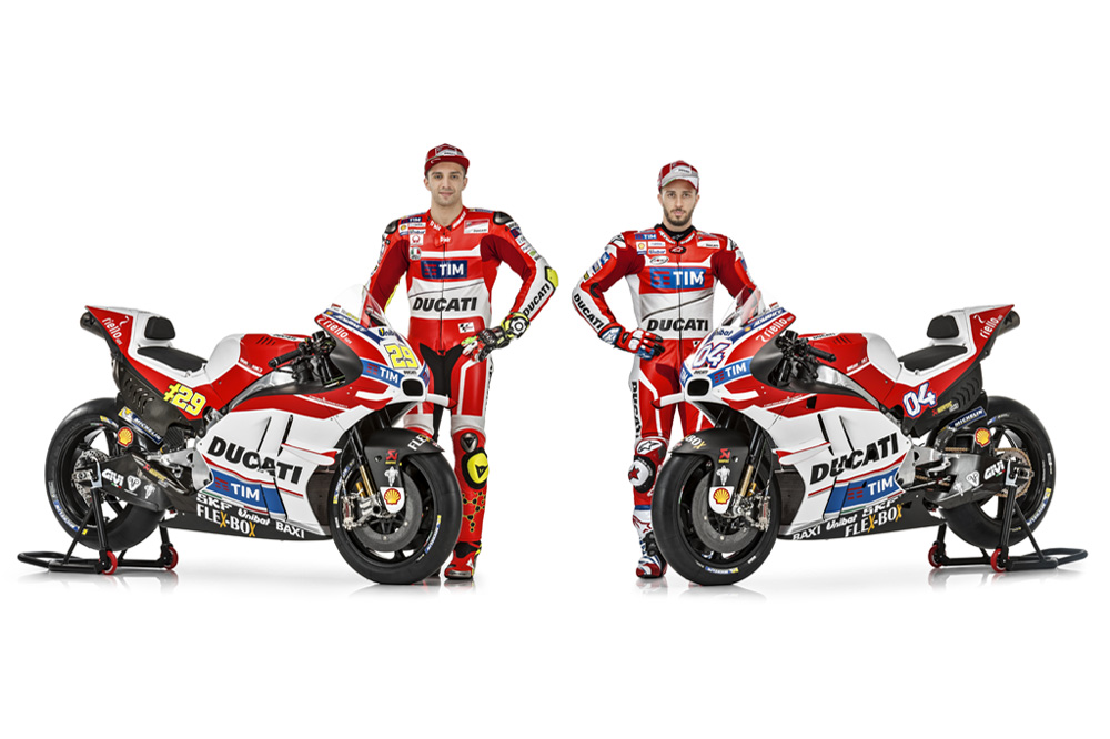 Ducati presenta su equipo de MotoGP 2016