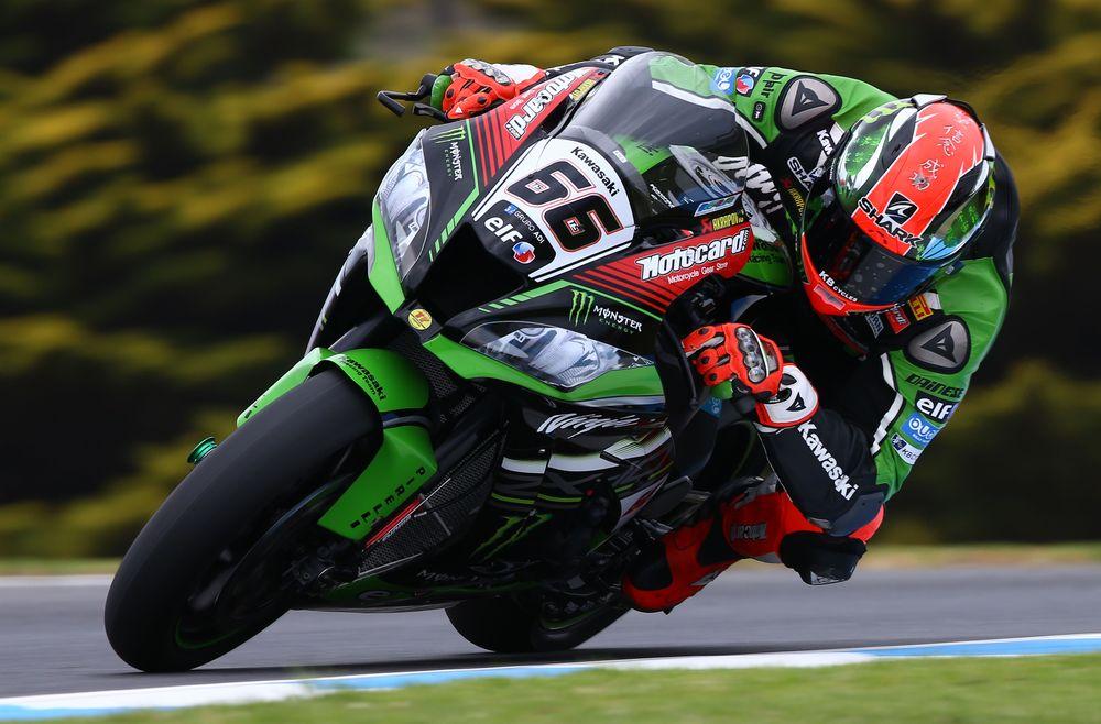 Kawasaki termina dominando los últimos entrenamientos de Superbike