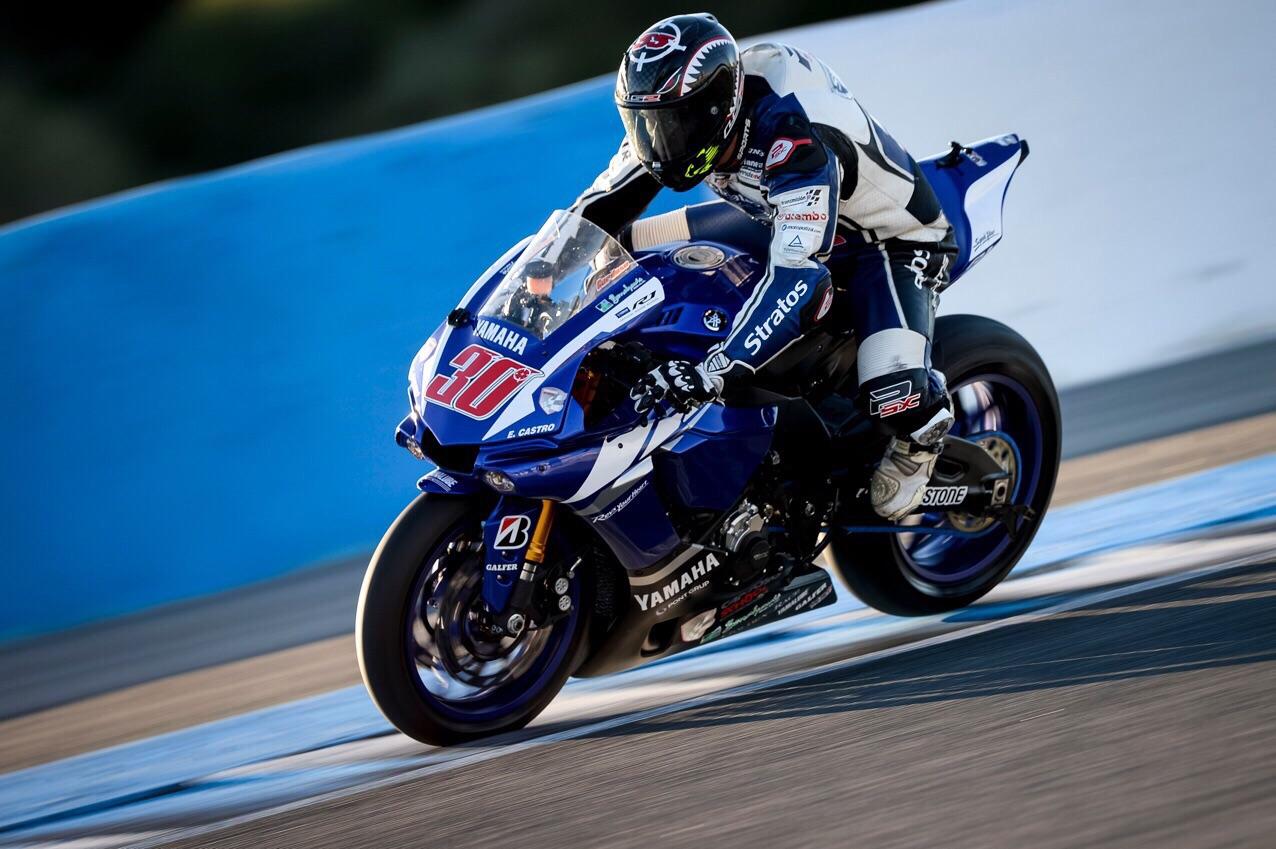 El Yamaha Stratos apuesta por Alejandro Medina en el FIM CEV de Superbike