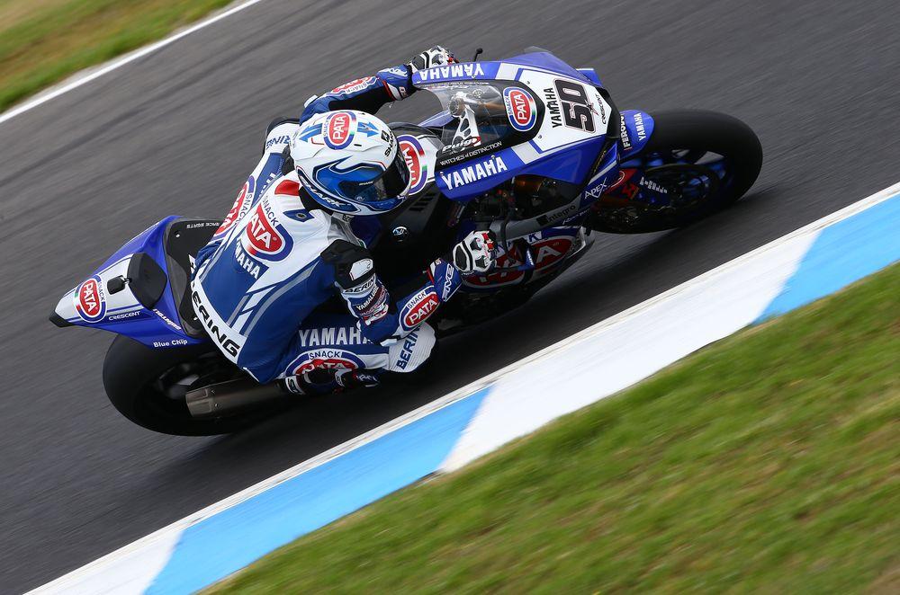 Yamaha y Sylvain Guintoli dominan los primeros entrenamientos de Australia