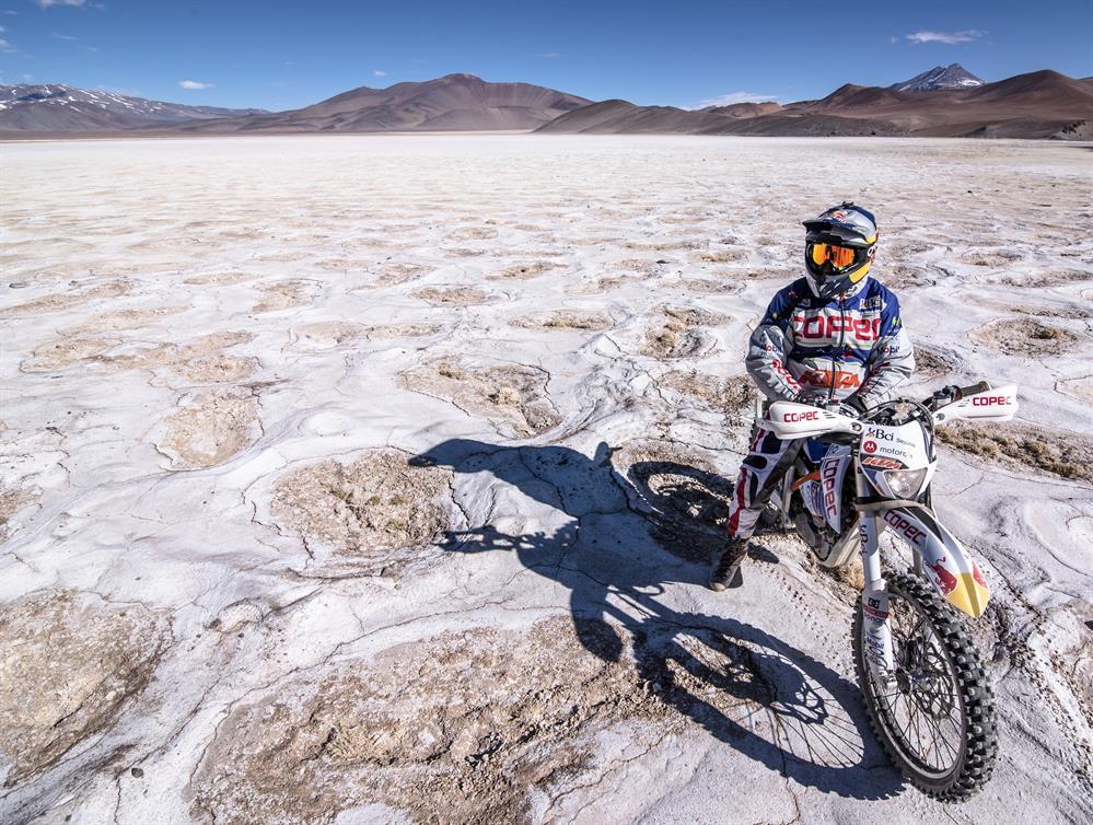 Chaleco López consigue un récord mundial con la KTM Freeride