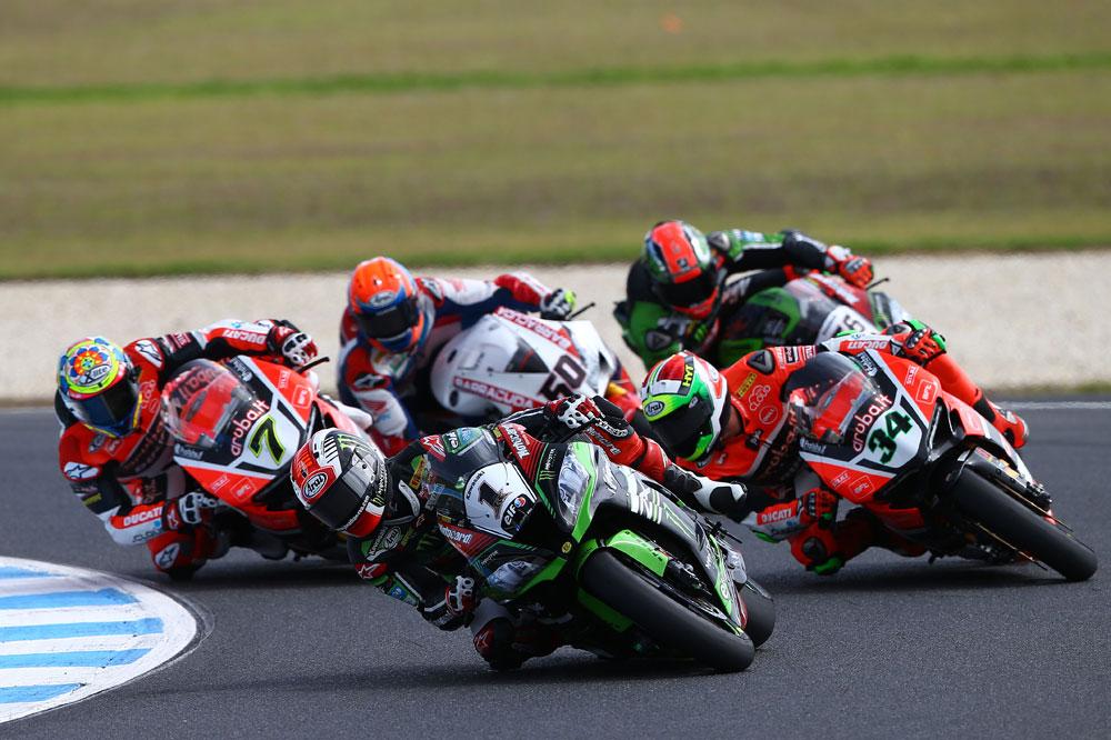 Jonathan Rea gana la primera carrera de Superbike en Phillip Island