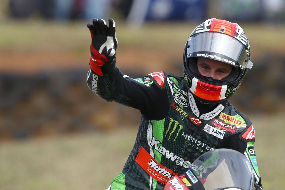 Jonathan Rea también gana la segunda carrera de SBK en Australia
