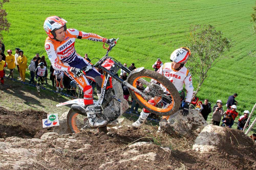 Bou gana en el Campeonato de España Trial TR1 celebrado en Sant Joan, Mallorca