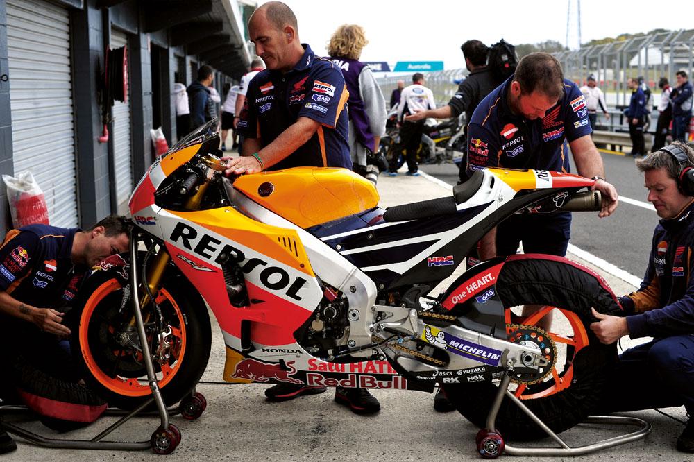 Las motos del Mundial de MotoGP 2016