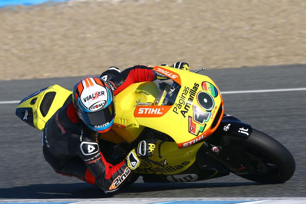 Comienzan los test oficiales de Moto2 y Moto3 en Jerez