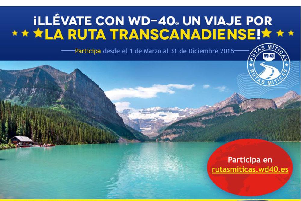 Rutas Míticas: Viaje a Canadá de costa a costa con WD-40