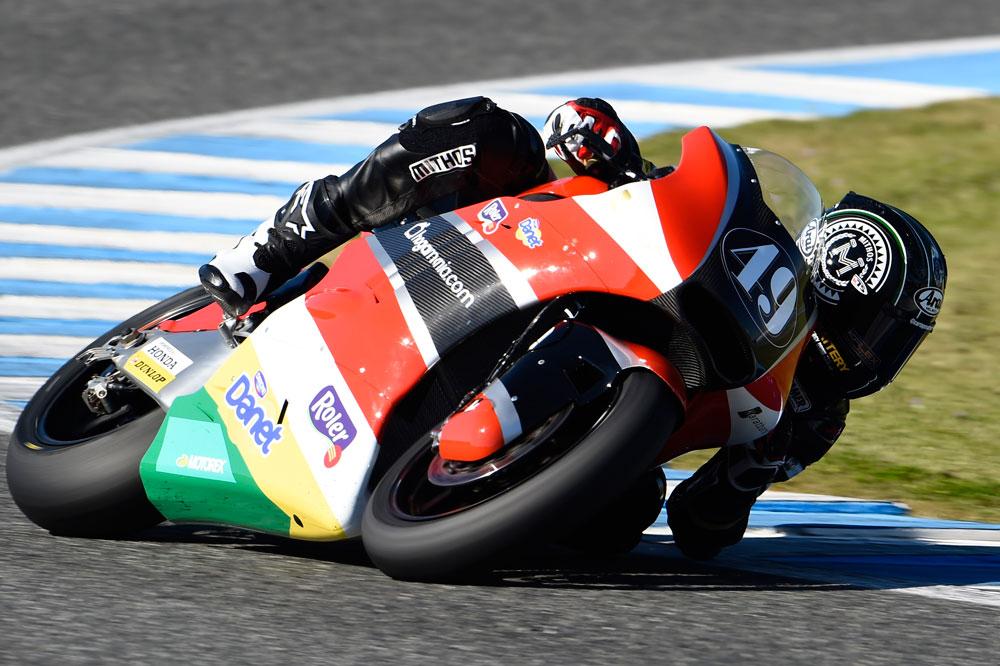 Axel Pons bate el récord del circuito de Jerez en Moto2