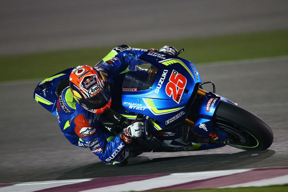 Maverick Viñales vuelve a sorprender en los test de MotoGP en Qatar