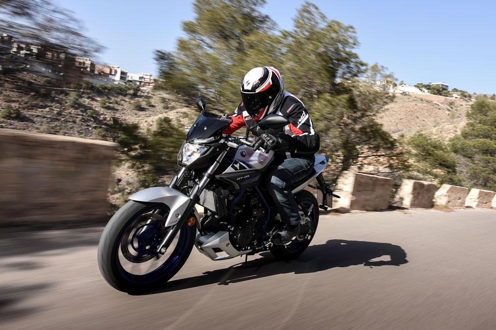 Yamaha MT-03, una moto para el carnet A2