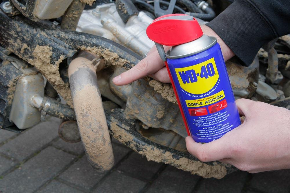 C mo limpiar el barro de la moto consejos - Sacar manchas de oxido del piso ...