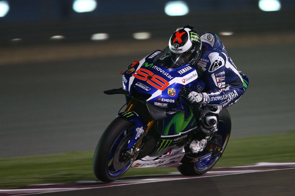 Jorge Lorenzo, el más fuerte en los test de Qatar