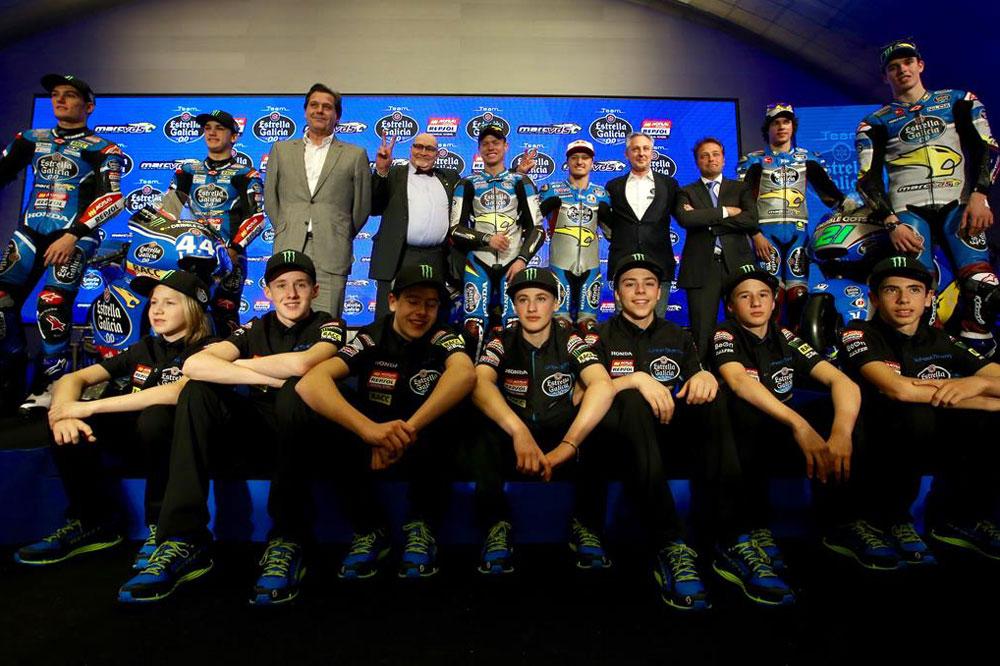 Estrella Galicia 0,0 presenta sus equipos de MotoGP, Moto2 y Moto3