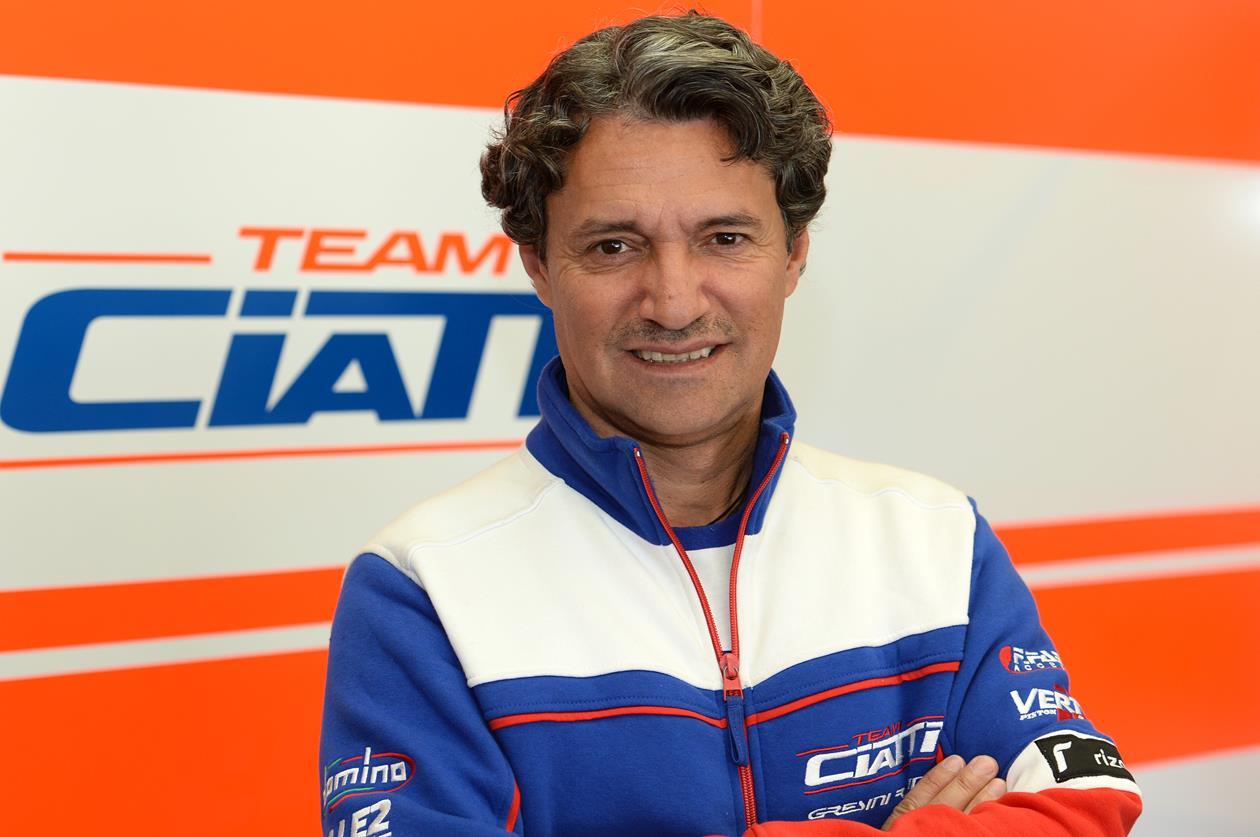 Ezio Gianola, el asesor de los pilotos italianos en el FIM CEV