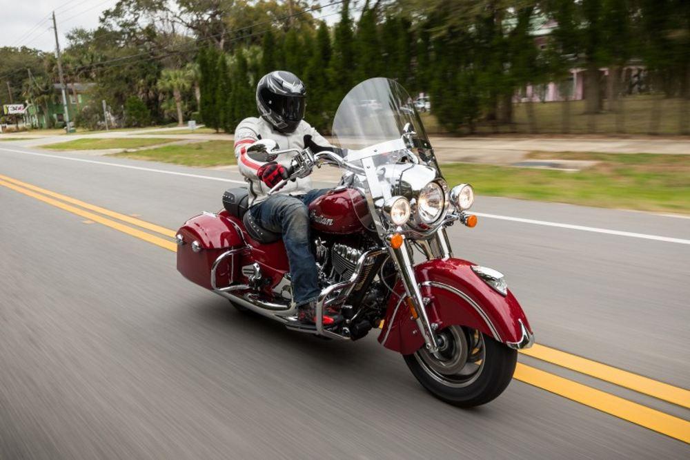 Indian Springfield, dos motos en una de estilo Vintage