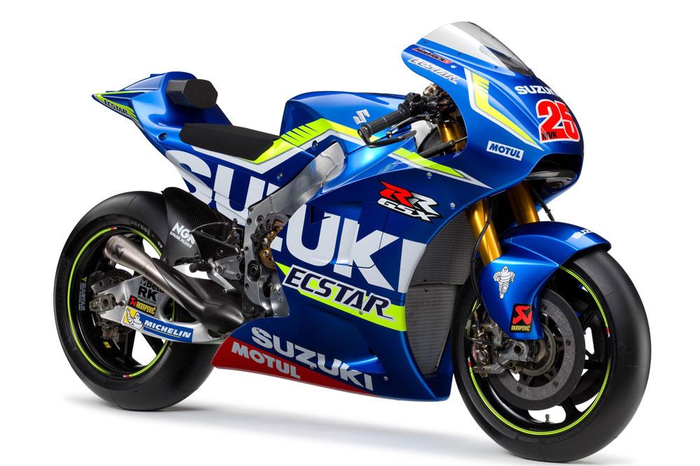 Suzuki GSX-RR, la moto de Maverick Viñales y Aleix Espargaró