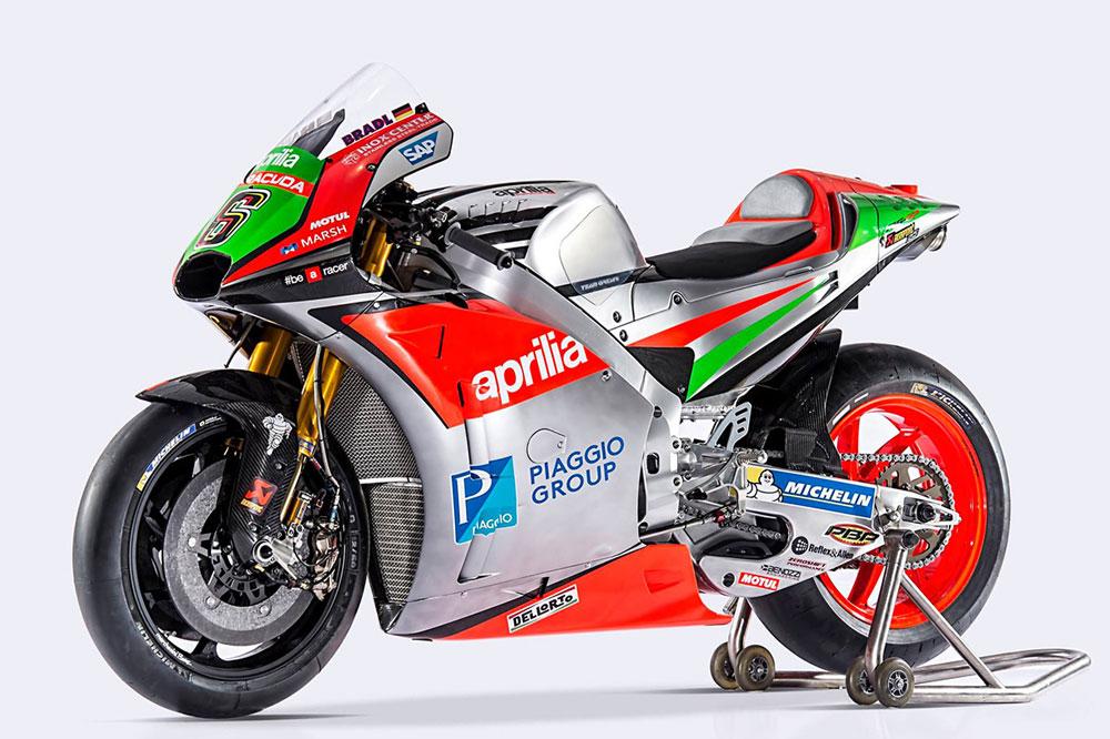 Aprilia RS-GP, la moto de Álvaro Bautista y Stefan Bradl