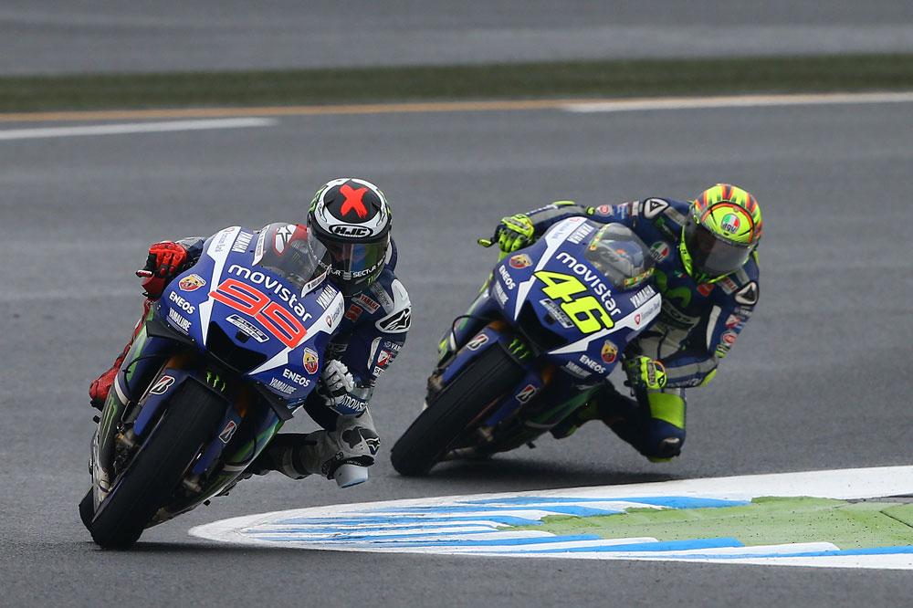 Los pilotos de Yamaha, preparados para el GP de Qatar
