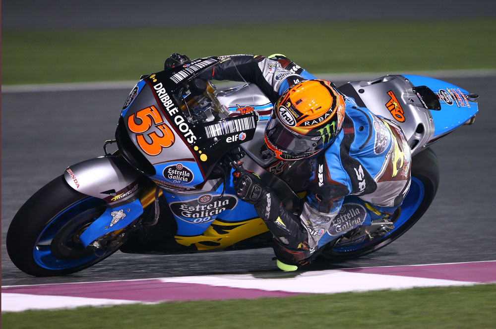 Tito Rabat disputará su primera carrera de MotoGP en Qatar