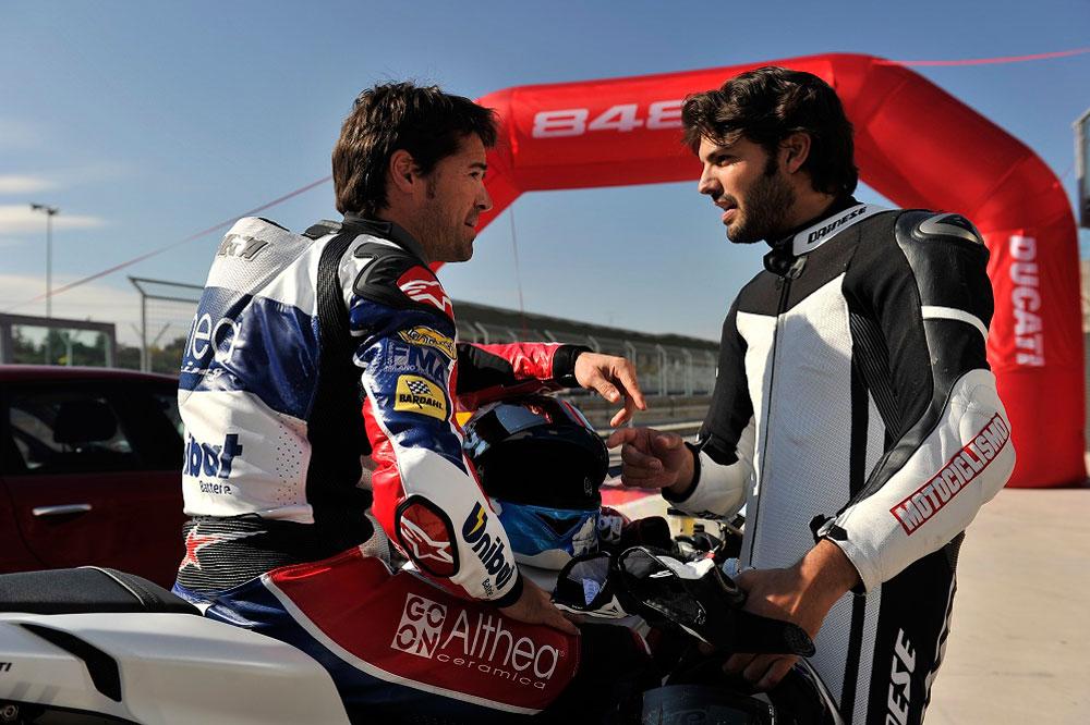 MOTOCICLISMO y Sergio Romero, en la TV durante el Mundial de MotoGP