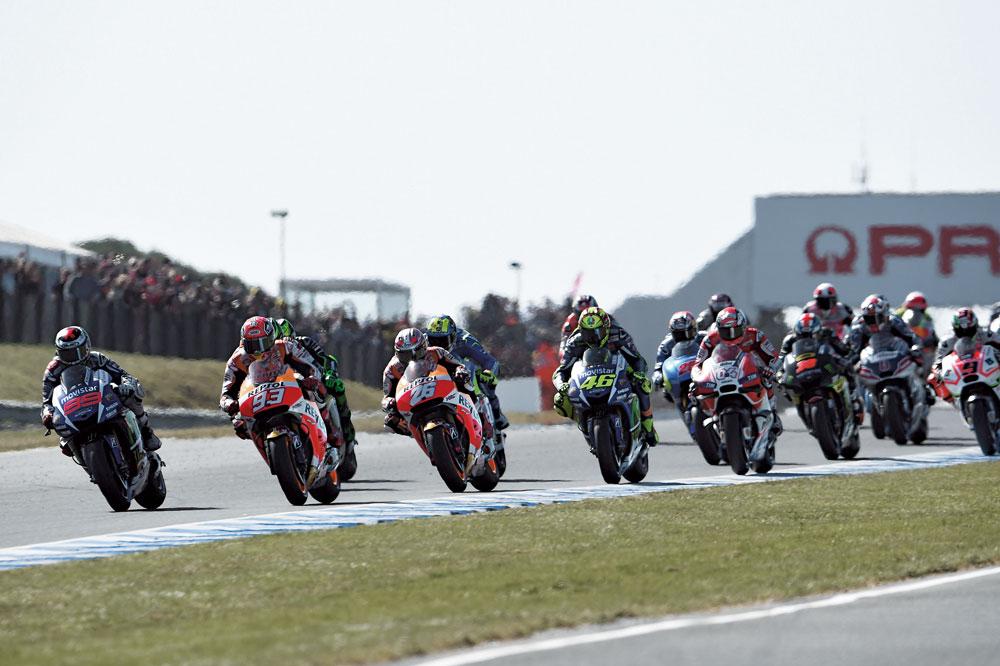 Mundial de MotoGP 2016: Comienza el espectáculo