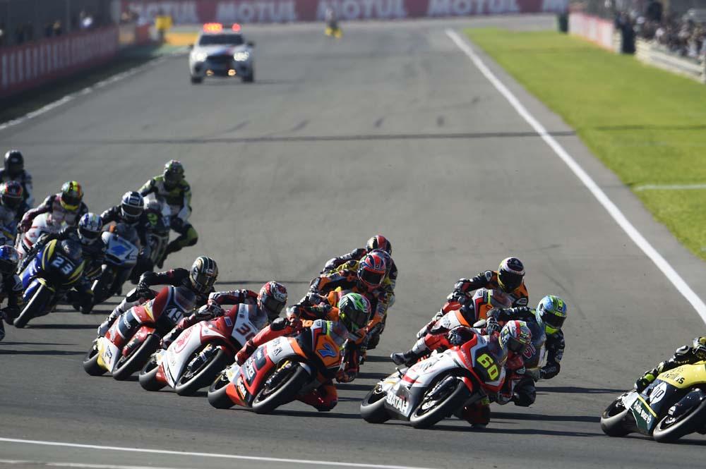 Los pilotos españoles de Moto2