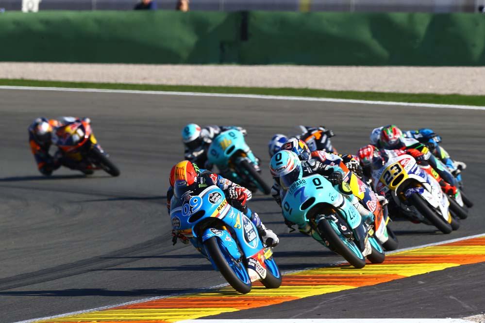 Los pilotos españoles de Moto3