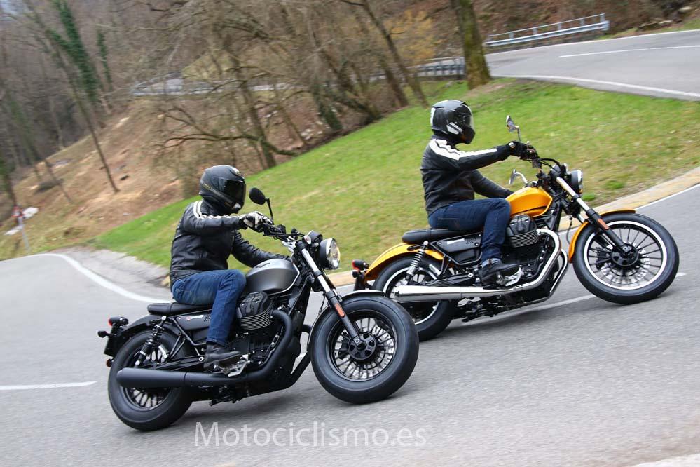 Moto Guzzi V9 2016: versiones Bobber y Roamer