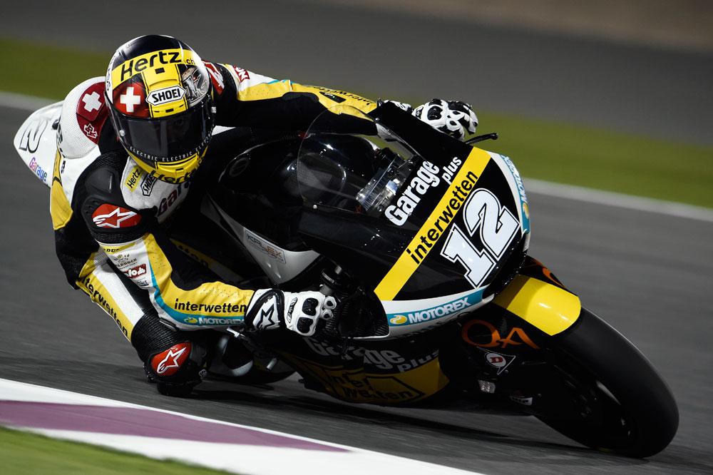 Thomas Luthi marca el mejor tiempo en el FP1 de Moto2