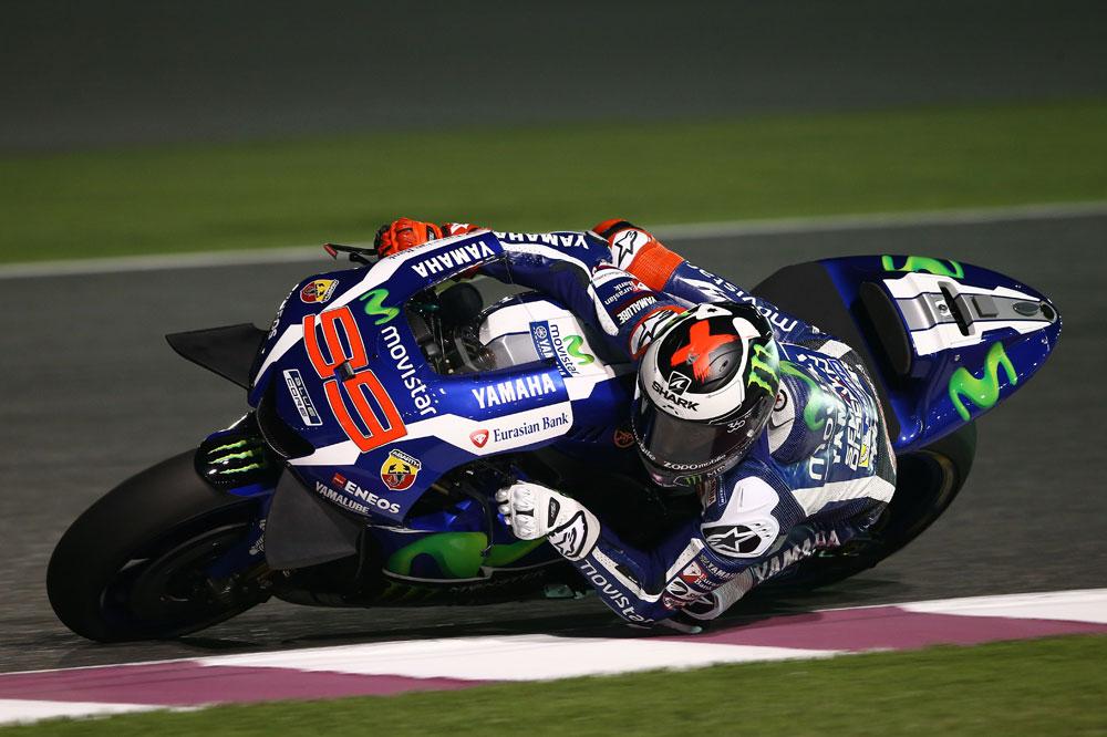 Jorge Lorenzo y Yamaha, dominio total en Qatar