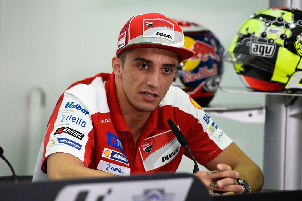 Andrea Iannone, tercero y mejor Ducati en los primeros libres