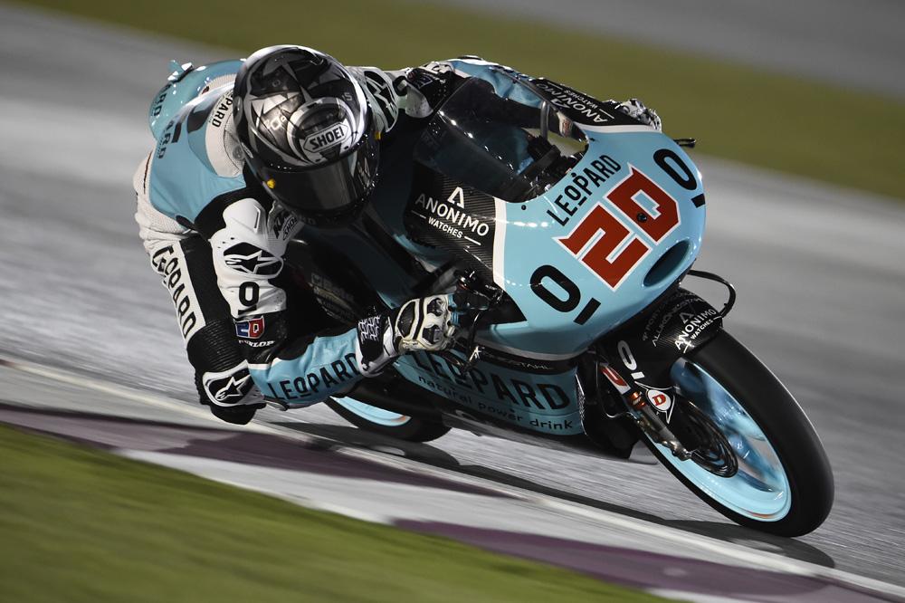 Fabio Quartararo, el más rápido en el FP3 de Moto3
