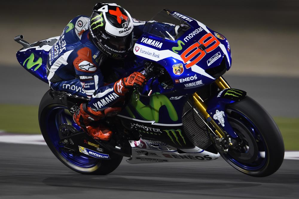 Jorge Lorenzo triunfa en Qatar; Dovizioso y Márquez suben al podio