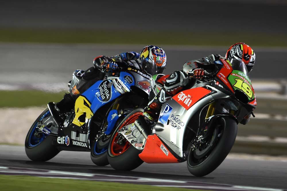 La Aprilia RS-GP 2016 consigue sus primeros puntos en MotoGP