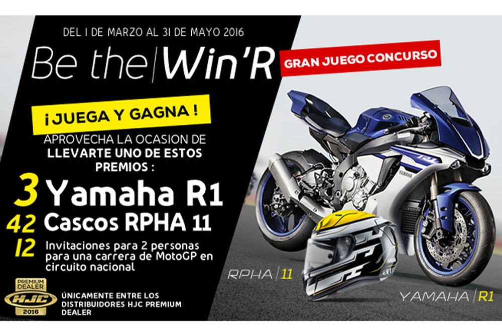 Concurso de HJC Be the Win'R