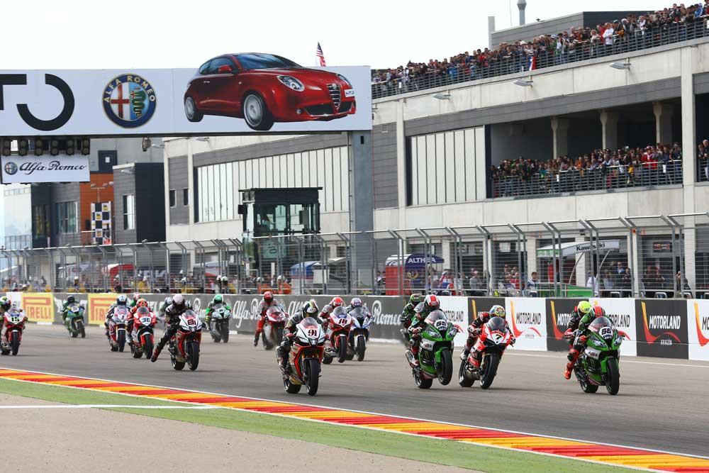 Horarios del Mundial de Superbike en Aragón