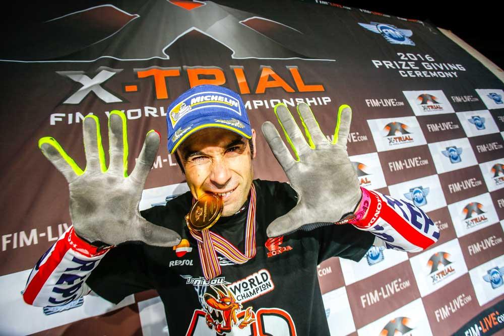 Toni Bou gana su décimo título del Mundial X-Trial