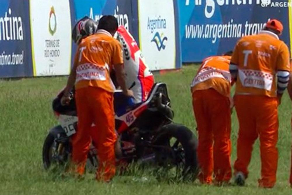 Alarma en Michelin por la explosión del neumático de Redding